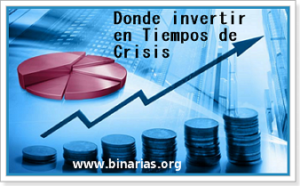 donde invertir en crisis