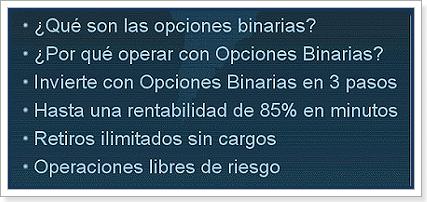 Opciones binarias españa demo