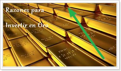 razones para invertir en oro