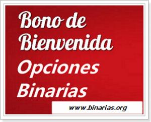 Bono deposito opciones binarias