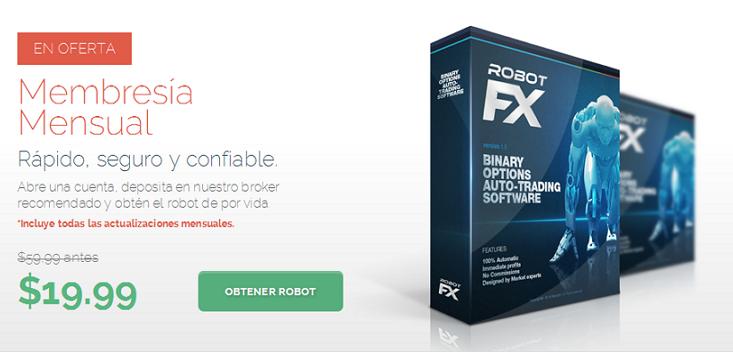oferta robot fx