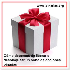 liberar bono de opciones binarias