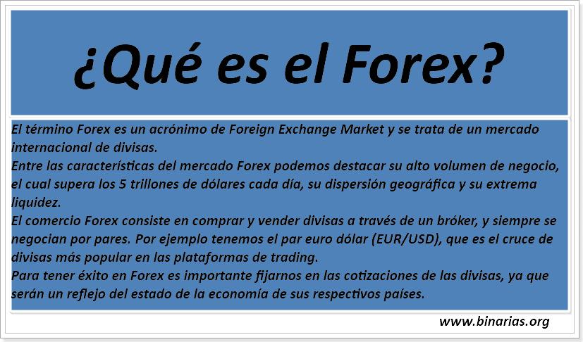 Forex que es forex с нуля до прибыльных сделок